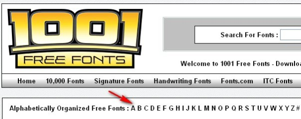 menambah font windows